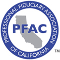 Professional Fiduciary Association of California Logo and Link