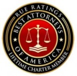 RUE Ratings Best Attorneys of America Lifetime Charter Member Logo and Link