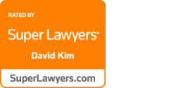 Rated by Super Lawyer logo and link