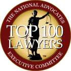 The National Advocates Executive Committee Top 100 Lawyers Logo and Link